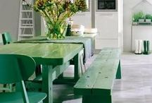 All things Green Inspiration / A colour co-ordinated collection of design and interior inspiration.