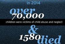 Child Abuse: Infographics / Every facet of #childabuse discussed, named, and resources for help offered, in easy to read fact-based language. #prevention