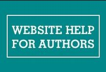 Website Help For Authors / If you find yourself technically challenged in setting up your website, creating images, setting up social media, we got you covered!  / by Mixtus Media