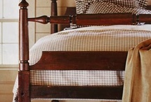 ~ Prim/Colonial Bedrooms ~ / by Sandy Cassista-Beaulieu