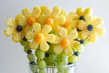 Fun and Creative Food for Kids / Let your kids play with their food! Here are the most fun and creative recipes on Pinterest. If you'd like to become a contributor, follow this board and send me an email at sara (at) dinneratthezoo.com for an invitation.  / by Dinner at the Zoo
