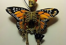 All_Hallows_Eves_Bones / Day of the Dead, skulls, skeletons, crafty ideas oh my!