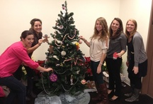 Holiday Happenings / Hunter PR celebrates the holiday season in style. From Thanksgiving spreads to decking the halls, Hunters share their holiday cheer from every corner of the Big Apple...and beyond!