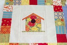 Quilt Blocks: Houses / Don't forget to come back and shop at Christmas at Heart for high quality 100% cotton for quilting, fun holiday patterns, and beautiful hand-stitched gifts. / by Christmas at Heart