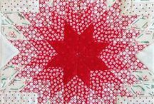 Quilt Blocks: Stars / Don't forget to come back and shop at Christmas at Heart for high quality 100% cotton for quilting, fun holiday patterns, and beautiful hand-stitched gifts. / by Christmas at Heart