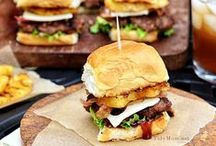 Burgers and Sandwiches / Burger Recipes | Sandwich Recipes | Grilled Cheese Sandwich Recipes | Slider Recipes | Panini Recipes | Wrap Recipes | Pinwheel Sandwich Recipes
