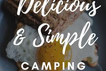 Campsite Cooking / The best camping recipes and cooking tools for your outdoor and RV lifestyle! Cook these over a campfire or in the kitchen in your camper.