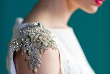 Statement wedding style / For the bride who dares to don hardware #embellishments