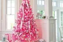 A PINK CHRISTMAS  ;) / PINK / by Lisa Allen Cole
