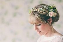 Wedding Hair | Inspiration / Covetable hair styles for your wedding day and beyond.