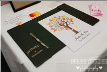 Guest Book Inspiration / Guest books and alternatives #wedding #guestbook