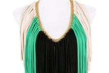 Make a Statement! / Find styling ideas to wear SAAKO's Statement Necklaces -  Designed for all you confident, elegant and fashionable women!  Stand-out wherever you go with these unique pieces!