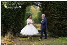 Judges Wedding - Jackie and John / Images from Jackie and John's #autumnwedding at #judgeshotel #Kirklevington