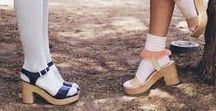 Socks & Heels // Lookbook