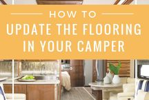 Camper Remodels / Find inspiration, and tips for your next DIY project to renovate and update your RV.