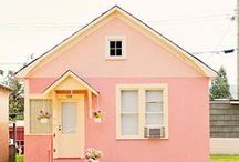 Pretty in Pink / Sweet, sweet Pink. Like a wisper in the winter, or a baby's kiss. Pink is a dream come true.  / by Lea