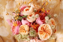 Peach + Pink Flowers / Classic Color Combos  Peach and pink wedding flowers