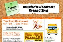 Candler's Classroom Connections / Laura Candler's free email newsletters with teaching strategies, printables, freebies, and great deals! Sign up to receive these newsletters by going to http://www.lauracandler.com/signup.php.  / by Laura Candler