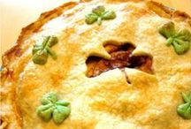 Luck of the Irish / To see more St. Patrick's Day recipe inspirations, go here: http://thehungrygoddess.com/category/recipes/holidays/st-patricks-day-holidays/