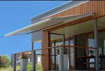 Retractable Awnings / Retractable awnings for your courtyards, patios, decks, terraces and balconies.