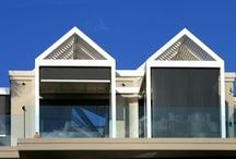Vertical Blinds and Shades / Manual and motorised blinds for your windows and doors.