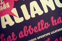 In Your Face : Bello Pro / Font spotlight on Bello Pro OT by Underware — find it on FontShop.com! / by FontShop