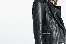 LEATHER JACKET / by Penelope Bellavia