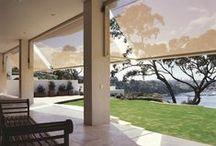 Folding arm awnings / external awning