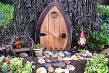 Fairy Garden Fun / My green thumb is brown, so this year I'm sticking to hostas & fairy gardens!! / by Dahna Belle Knox