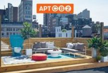 APT CB2: ROOFTOP / Welcome to the APT CB2 Rooftop! On May 11, 2014, I partnered with CB2 to create the first real apartment designed live on Pinterest! You picked from my pins and we put together an amazing rooftop created by thousands. This board serves up inspiration, tips and tricks, and #APTCB2 design.