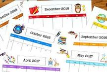 Classroom Printables / Awesome ready-to-use resources that teachers can print and use with minimal prep time.