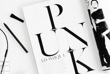 TYPOGRAPHY / art of letter play / by Penelope Bellavia
