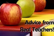 Advice from Real Teachers / A collection of Corkboard Connection blog posts with helpful advice shared in response to questions on the Teaching Resources Facebook page.