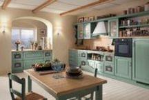 Rustikální kuchyně / Venkovský styl se vrací zpátky do obliby. Alespoň co se týká nábytku a vybavení interiérů, neřekl venkovský styl poslední slovo. Rustikální nábytek vytvoří stylové interiéry.