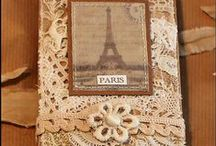 Paris inspired / Well who doesn't love Paris and the Eifel tower?