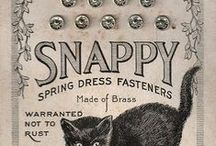 Scissors ✄, buttons, needles, thread & more / It's all around sewing ~ vintage or vintage inspired!