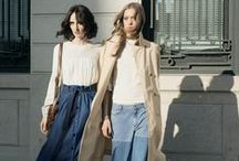 Outfit Inspiration / Street style, fashion icons, and regular everyday looks that inspire.