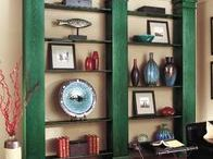 Salvage Style / Gorgeous home accessories and furniture made with salvage-yard finds.