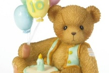 Cherished Teddies / Cherished Teddies Birthday Figurines are an excellent way to mark each important Birthday Milestone. The Cherished Teddies Birthday figurines are available in Ages 1 though Age 10. #CherishedTeddies #Birthday