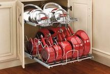 Storage & Organization Ideas / Space-maximizing, clutter-minimizing solutions, products and projects.