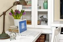 Home Office Design / Handsome--and harworking--home offices with ideas you can replicate in your own house.