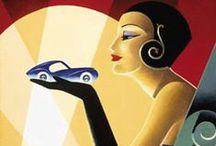 Art: Deco / Art Deco objects / by Kwalitisme