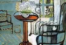 la casa nei disegni e nell'arte / Gli interni e i momenti del quotidiano nei dipinti