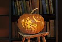 Halloween Home Ideas / Halloween decor, party ideas and pumpkin-carving designs to help you get your ghoul on!
