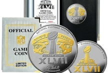 Super Bowl 47 / Official Super Bowl 47 Flip Coins and other Mancave Gifts.