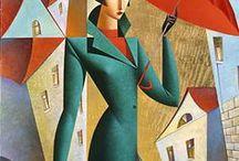 Gregory Kurasov / cubism artist