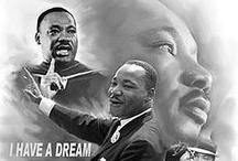 MLK / Civil Disobedience...Peace...Justice...Equality...Education. You do not need to be a religious person to admire Martin Luther King, Jr.  His strength, determination and persistence resulted in the enrichment of all of our lives.  His values and character have inspired me beyond comprehension.  Remember him and follow his example.   / by Stacy McMinn