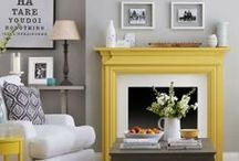Hearth Design / Fireplace and mantel makeovers, upgrades and how-to instructions.