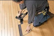 Wood Flooring Ideas / Care, repair and installation tips and step-by-steps for your wood floors.