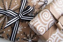 Packages and wraps / Gift wrapping, Christmas, birthdays, special occasions, labels, tags